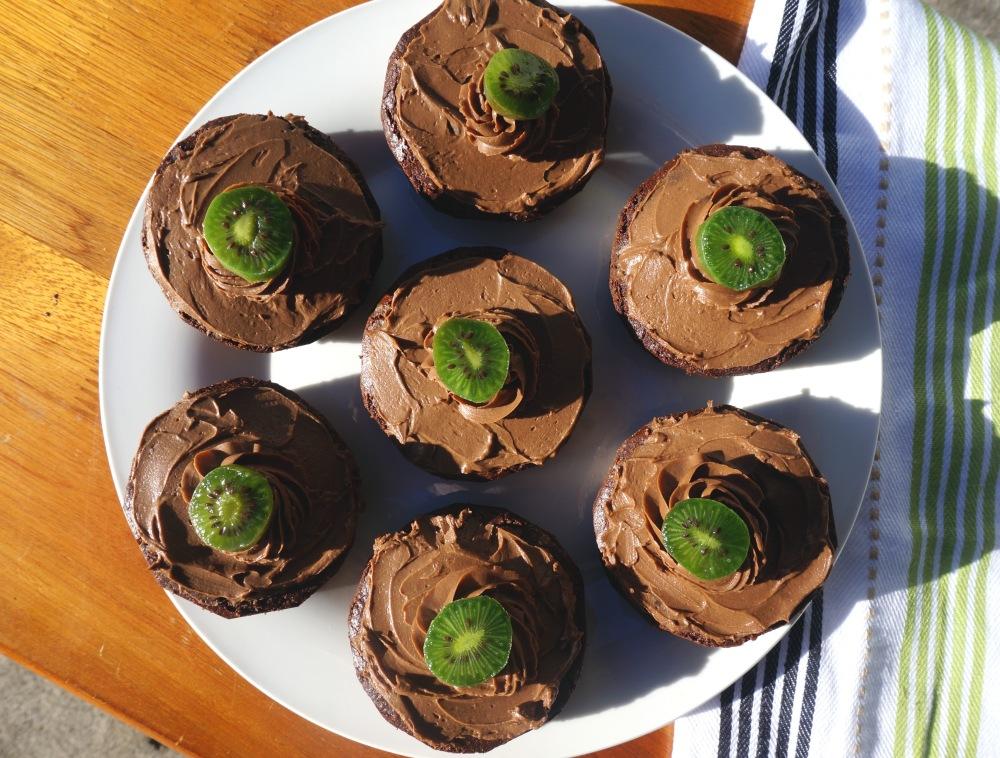 carob cupcakes