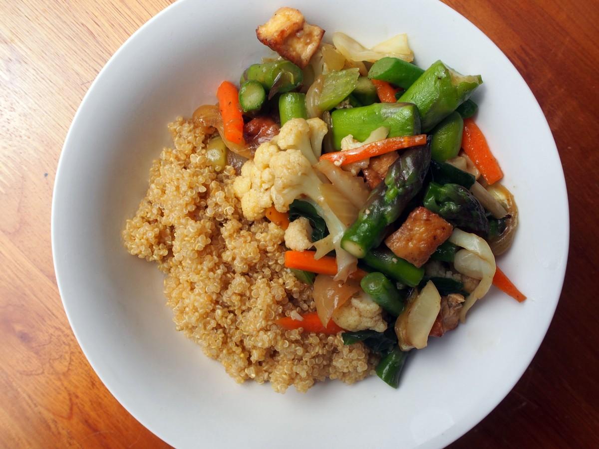 Vegetable & Tofu Stir-Fry | live2give